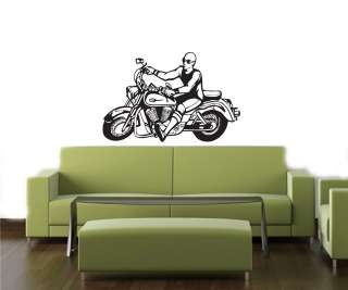 BIKE CHOPPER HARLEY Wall Decor Vinyl Decal Sticker B24