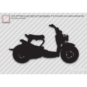 (2x) Ruckus   Scooter   Sticker   Decal   Die Cut