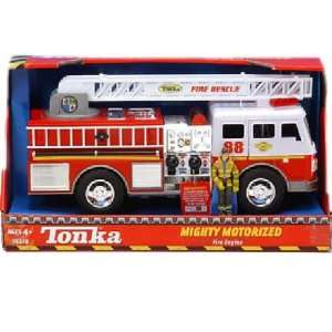 Tonka Mighty Motorized Vehicle   Fire Engine Toys & Games
