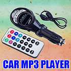 New Black Car  Player FM Transmitter USB Pen Drive for iPod SD MMC