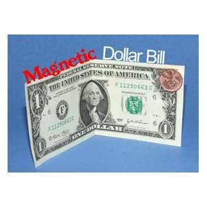 Magnetic Dollar Bill & Steel Penny Coin Magic Trick Set