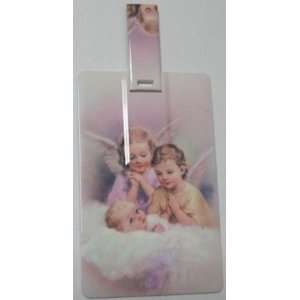 Credit Card Style Angel Figure USB Flash Memory Drive