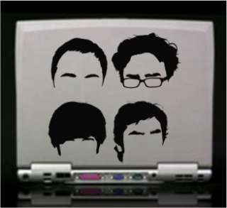 The Big Bang Theory Die Cut Vinyl Decal Sticker