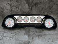 Galaxie Aluminum Dash Insert Panel w/ Auto Meter Arctic White Gauges