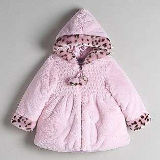 Toddler Girls Faux Fur Jacket  Bon Bebe Baby Baby & Toddler Clothing