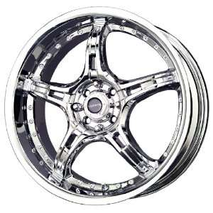 Liquid Metal Merker Series Chrome Wheel (18x7.5/5x115mm