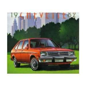 1982 CHEVROLET CHEVETTE Sales Brochure Literature Book