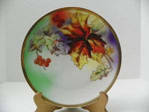 ROYAL MUNICH HANDPAINTED PLATE ARTIST SIGNED