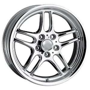 18x9 Detroit Style DMP (Chrome) Wheels/Rims 5x120 (DMP1