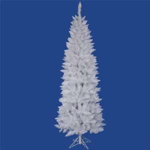 White Spruce 90 Pencil Artificial Christmas Tree