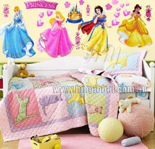 Disney Princess   Removable Wall Sticker/Decal/Decor