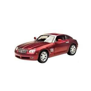 Motormax   Chrysler Crossfire Hard Top (2003, 118, Red) diecast car