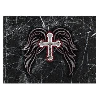 Unique CHRISTIAN Laptop Skin Decal 2   Leather Look
