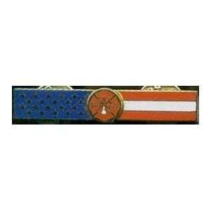 Fire Department American Flag Rocker Bar Health