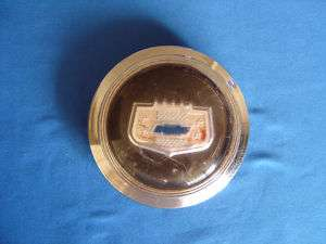 1947 48 Chevy Horn Button Steering Wheel Center Emblem