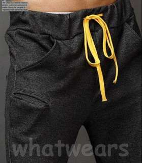 Fashion Mens Casual Sport Trousers Simple Design Pants 3Colors Z1227