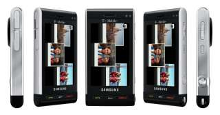 New Samsung SGH T929 Memoir 3G 8MP GPS Black Unlocked Cell Phone