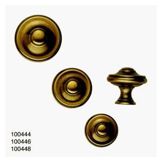 com Classic Hardware 100444 03 Antique Brass Distressed Cabinet Knob