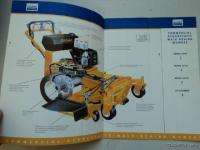 1995 Cub Cadet Commercial Lawn Mower Lawnmower Catalog
