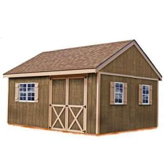Best Barns New Castle 16 ft. x 12 ft. Wood Storage Shed Kit includes