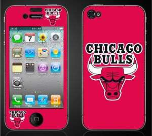 Iphone 4 CHICAGO BULLS Decal Sticker Skins