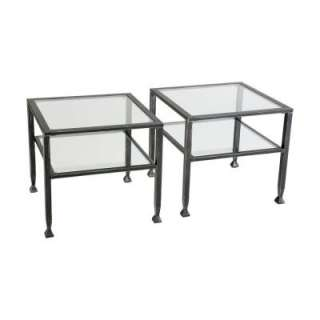Home Decorators Collection Bunch Metal Square Cocktail Table CK8770 at