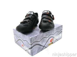 NEW SIDI GENIUS 5 PRO CARBON   Road Cycling Shoes   Black/Black