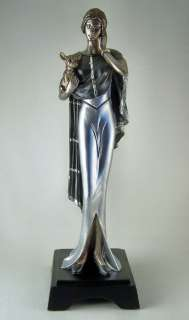 Ellegant ROARING 20s ART DECO LADY Figurine New