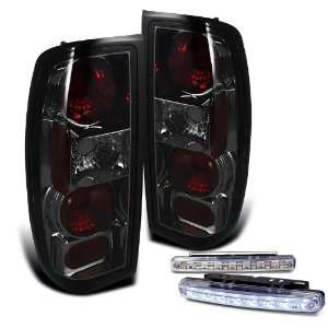 Eautolight 98 04 Nissan Frontier Brake Tail Lights + LED