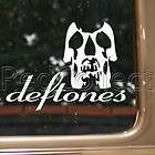 Deftones Skull Rock Band Logo Decal Car Truck Bumper Window Vinyl