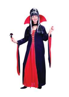 Victorian Vampiress Plus Size  Cheap Gothic/Vampire Halloween Costume