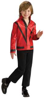 Boys Red Michael Jackson Thriller Jacket Costume   Michael Jackson