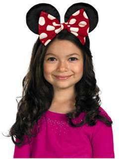 Girls Disneys Minnie Mouse Ears Boutique Costume   Girls Disney