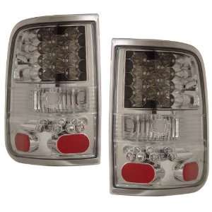 2004 2006 Ford F150 KS LED Chrome Tail Lights Automotive