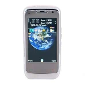 BX A800 Quad band FM Touch Screen Dual Sim Standby Cell