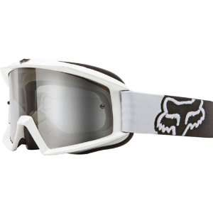 Fox Racing Main Goggles   White Automotive