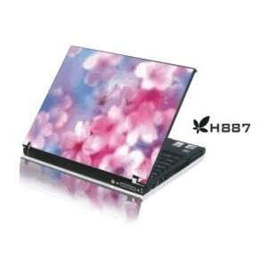 15.4 Laptop Notebook Skins Sticker Cover H887 Pink