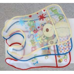 Packs Fashion, Waterproof & Soft Baby Superbib  Cute Infant Feeder