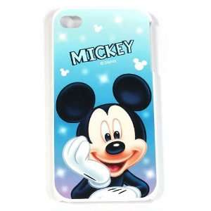 4G / 4 Mickey Mouse Disney Blue Design on white HARD Protector Cover