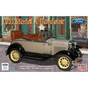 Minicraft 1/16 1931 Ford Model A Roadster Car Kit Toys