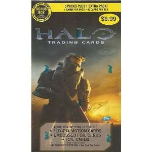 TOPPS HALO RETAIL TRADING CARD BOX Toys & Games