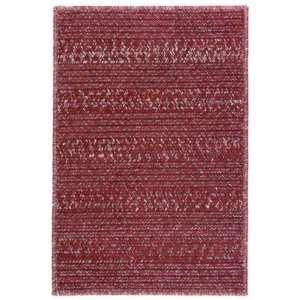 Braided Area Rug Carpet Indoor/Outdoor Sangria 7 x 9