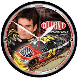 Jeff Gordon NASCAR Driver Round Wall Clock Sports