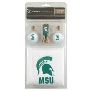 State Spartans College NCAA Golf Logo Gift Set