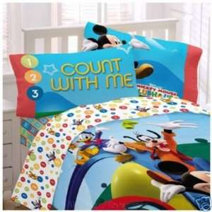 Disney Mickey Mouse Clubhouse Reversible Pillowcase Baby