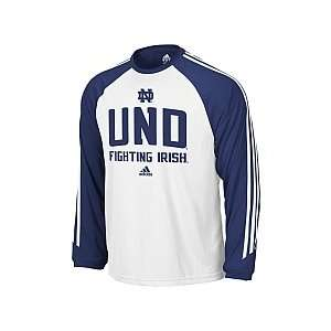 Adidas Notre Dame Fighting Mens Irish 3 Stripe Long