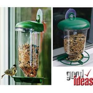 Window Bird Feeder Station With Suction Cup [Kitchen