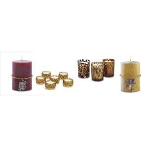 Tropical Safari Candles   Standard Shipping Only   Bits and Pieces