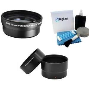 Tube Adapter + Digi 5 Piece Pro Cleaning Kit for CANON POWERSHOT G10