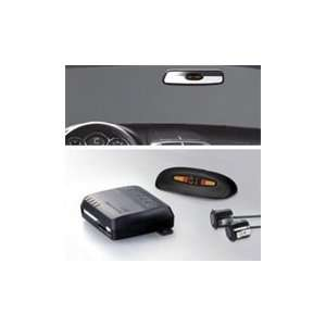 2 sensor rear parking assist system with rear mounted